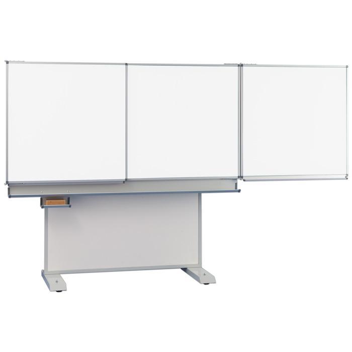 fahrbare tafel stahlemaille wei h henverstellbar g nstig online kaufen. Black Bedroom Furniture Sets. Home Design Ideas
