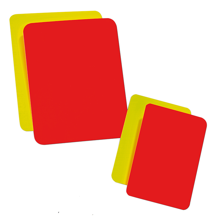 Schiedsrichter Karten