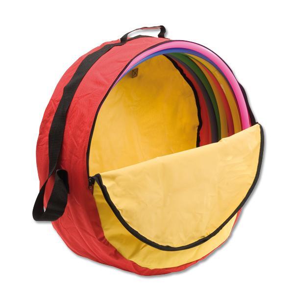 hula hoop reifen 10er set inkl tasche gef llt mit 10. Black Bedroom Furniture Sets. Home Design Ideas