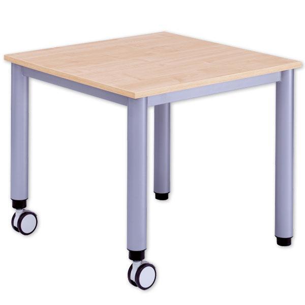 quadrat tisch mit h henverstellung fahrbar g nstig. Black Bedroom Furniture Sets. Home Design Ideas