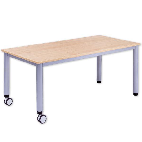 rechteck tisch fahrbar mit h henverstellung g nstig online kaufen. Black Bedroom Furniture Sets. Home Design Ideas