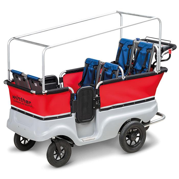 winther e turtle kinderbus 6 sitzer mit elektromotor. Black Bedroom Furniture Sets. Home Design Ideas