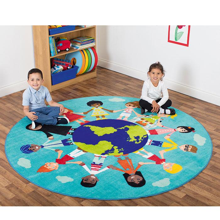 Teppich Kinder der Welt günstig online kaufen   backwinkel.de