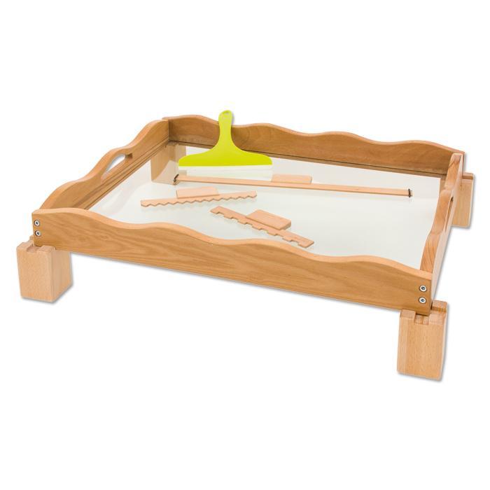 gro e sandwanne massives buchenholz mit einem boden aus 6 mm starkem sicherheitsglas g nstig. Black Bedroom Furniture Sets. Home Design Ideas
