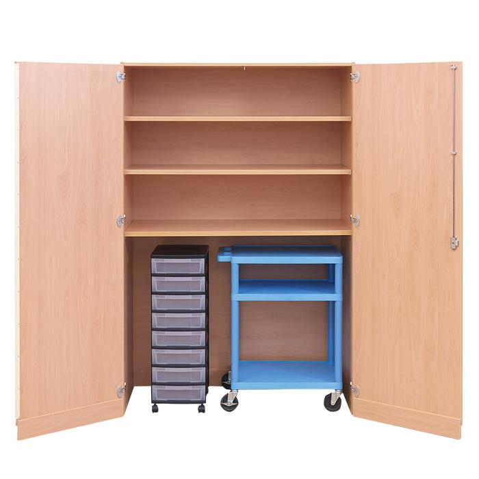 garagenschrank ohne mittelwand und 8 flachen boxen g nstig online kaufen. Black Bedroom Furniture Sets. Home Design Ideas