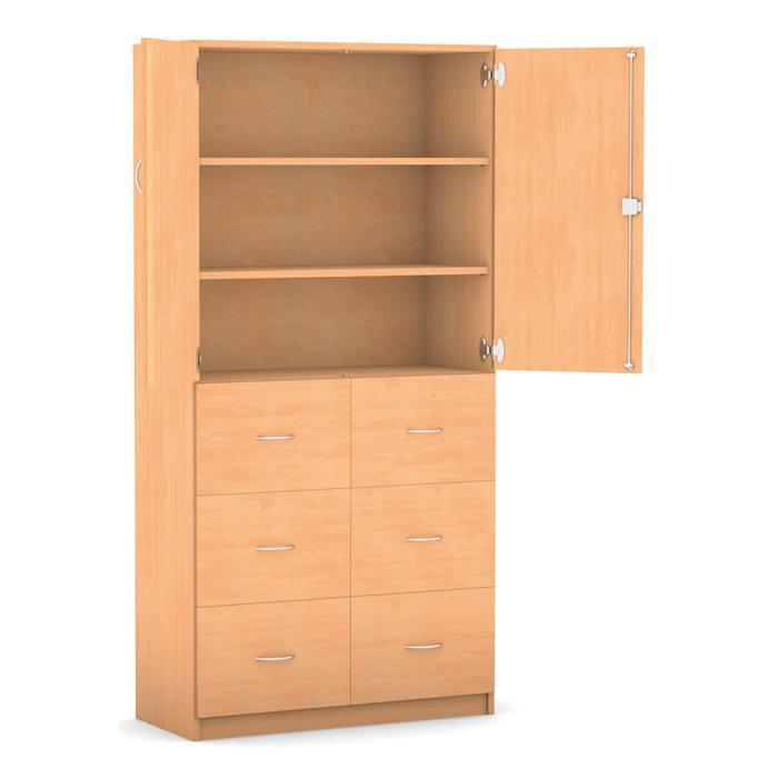 h ngeregister schrank 190 x 94 4 cm mit 2 halbt ren g nstig online kaufen. Black Bedroom Furniture Sets. Home Design Ideas