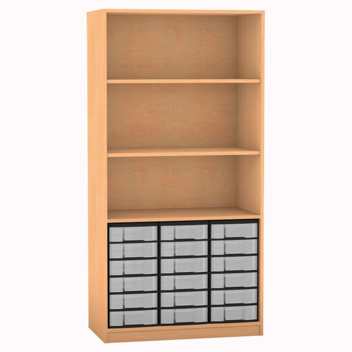 regale mit boxen backwinkel. Black Bedroom Furniture Sets. Home Design Ideas