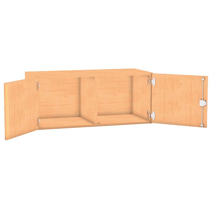 aufsatzschrank 41 1 x 94 4 cm mit mittelwand g nstig online kaufen. Black Bedroom Furniture Sets. Home Design Ideas