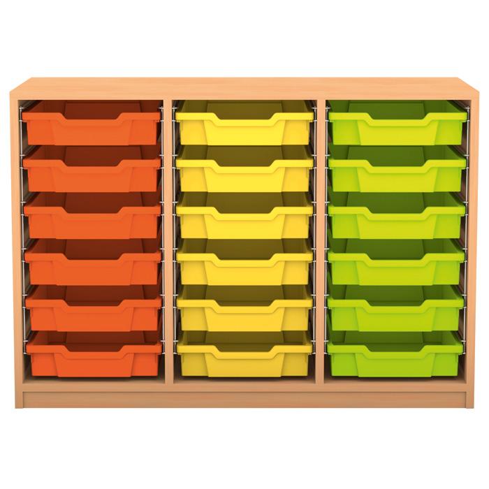 regale pro 18 flache boxen g nstig online kaufen. Black Bedroom Furniture Sets. Home Design Ideas