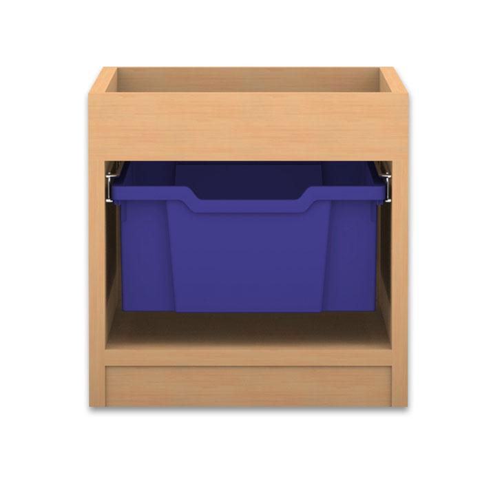 regale pro mit boxen h he 38 4 cm mit aufkantung g nstig online kaufen. Black Bedroom Furniture Sets. Home Design Ideas