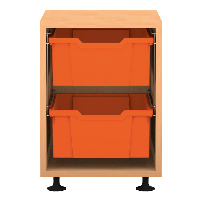 regale pro mit boxen h he 54 3 cm ohne aufkantung g nstig online kaufen. Black Bedroom Furniture Sets. Home Design Ideas