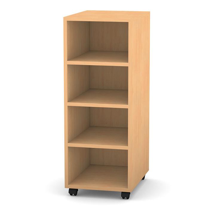 regal pro mit 1 reihe und 4 f chern g nstig online kaufen. Black Bedroom Furniture Sets. Home Design Ideas
