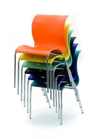 Design schalenst hle bringen sie farbe in ihre schule for Design schalenstuhl