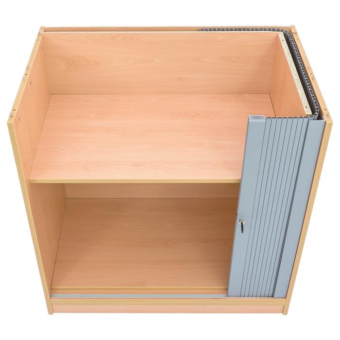 rollladen schrank 2 halbt ren ohne mittelwand g nstig. Black Bedroom Furniture Sets. Home Design Ideas