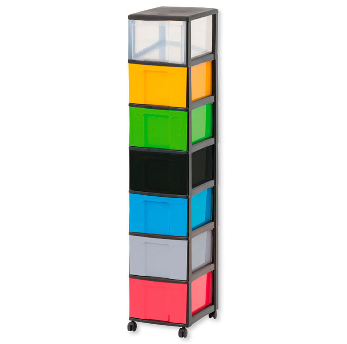 Flexeo Rahmensystem – Hohe Box, einzeln, mit schwarzem Rahmen ...