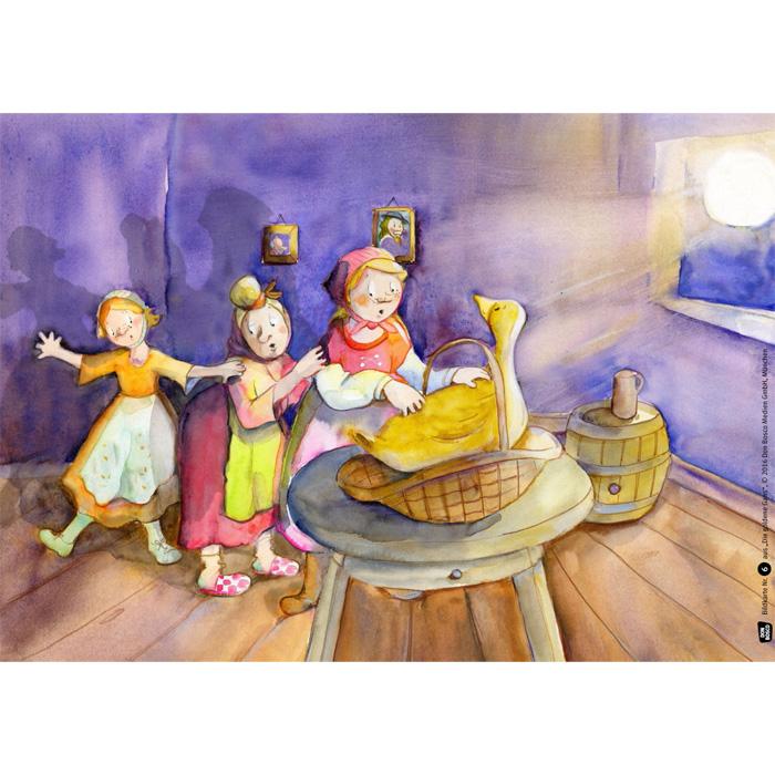 Die goldene Gans - Bildkarten Märchen günstig online