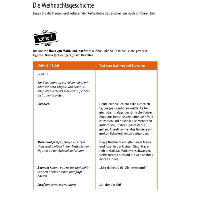 Schattentheater-Set, Die Weihnachtsgeschichte günstig online kaufen ...