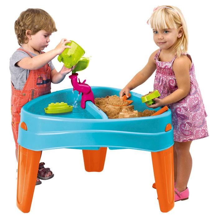 sand und wasserspieltisch spiel insel inkl zubeh r u3 geeignet g nstig online kaufen. Black Bedroom Furniture Sets. Home Design Ideas
