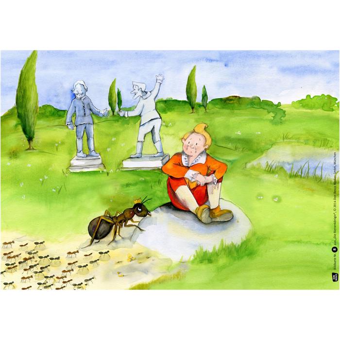 kamishibaibildkarten die bienenkönigin günstig online